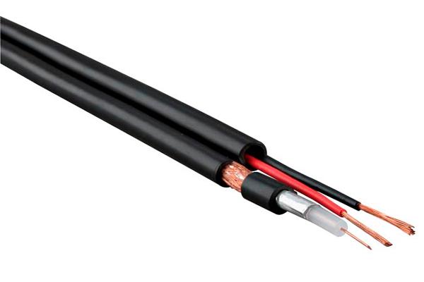 Комбинированный кабель для видеонаблюдения