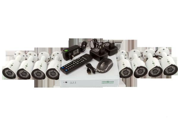 Комплект камер видеонаблюдения Green Vision GV-K-S14/08 1080P