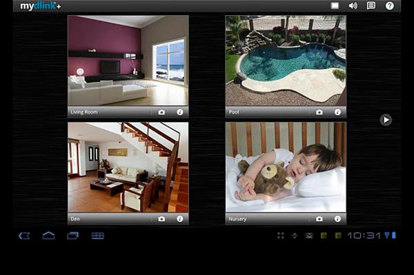 Картинка изображения системы видеонаблюдения CCTV