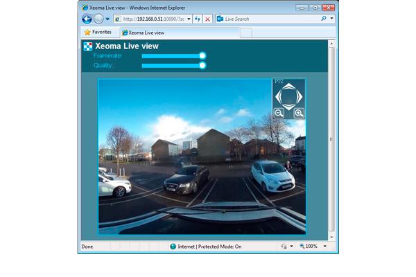 Программа Xeoma для организации видеонаблюдения Web-камерой