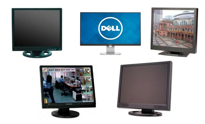 Монитор для видеонаблюдения - ТОП модели и как выбрать лучший?