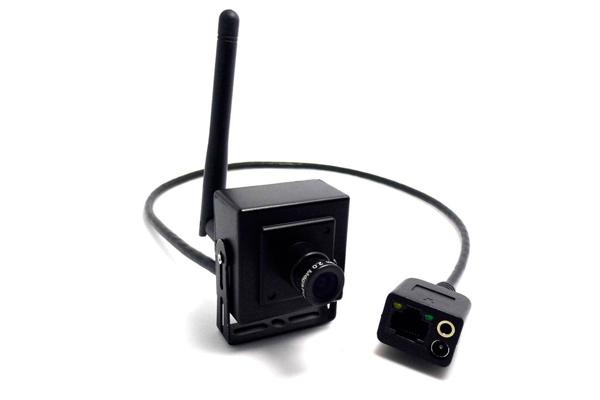 Миниатюрная беспроводная камера видеонаблюдения BY-IP13MCM-WT