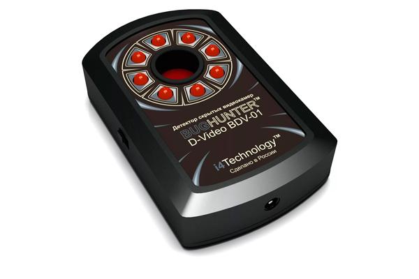 Детектор камер видеонаблюдения BugHunter Dvideo
