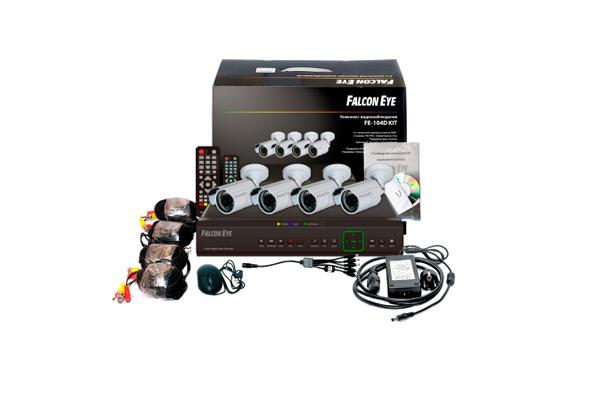 Комплект видеонаблюдения Falcon EYE FE 104d kit Дача