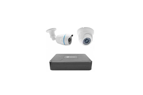 Комплект системы видеонаблюдения для гаража iTech AHD IQR-Дом/Улица-12