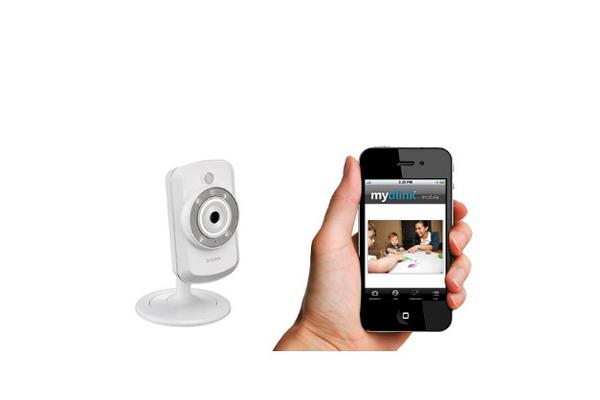 Камера видеонаблюдения для гаража с датчиком движения