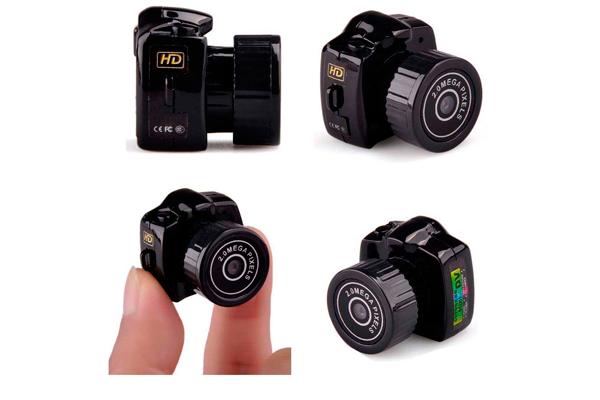 Миниатюрная камера видеонаблюдения