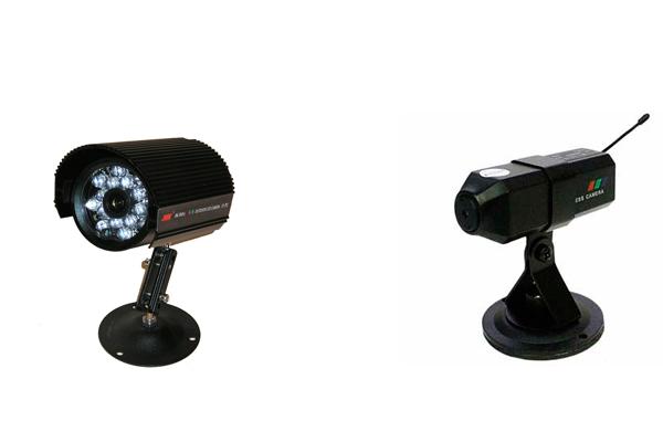 Проводная камера видеонаблюдения JK-915A и беспроводная ZT-830