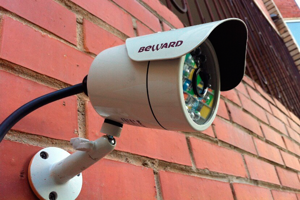 Уличная камера видеонаблюдения Beward