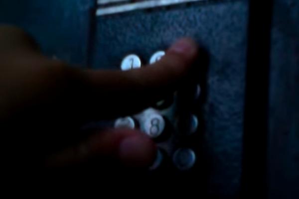 Ввод кода для открытия домофона Импульс 40Д-1 без ключа