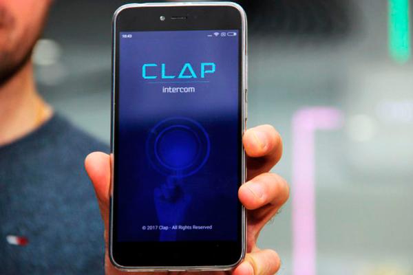 """Мобильное приложение """"Умного дома"""" CLAP"""