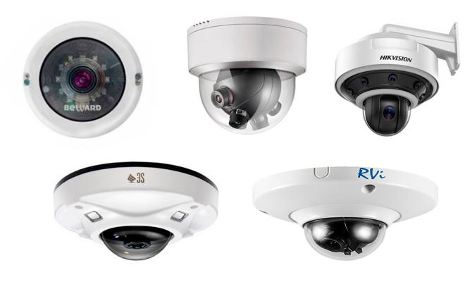Уличные панорамные камеры видеонаблюдения: особенности и важные характеристики