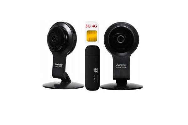 Комплект видеонаблюдения ShopCarry Cam100-2 4G