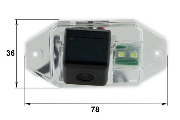 Автомобильная камера заднего вида Falcon SC01HCCD