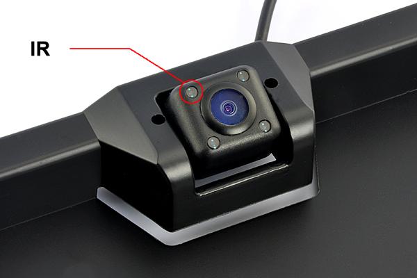 ИК-подсветка автомобильной камеры заднего вида