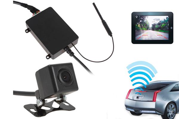 Автомобильная камера заднего вида, передающая информацию по Wi-Fi