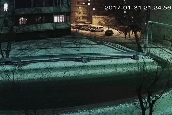 Картинка изображения IP камеры видеонаблюдения Dahua