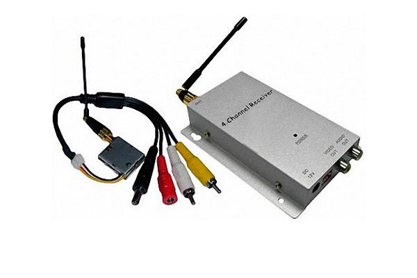 Усилитель для беспроводного видеонаблюдения ES 81107W
