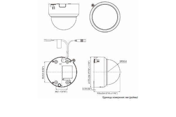 Схема устройства камеры видеонаблюдения Panasonic WV-CF-304-LE
