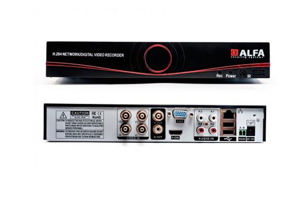 Видеорегистратор DVR Alfa D6304S