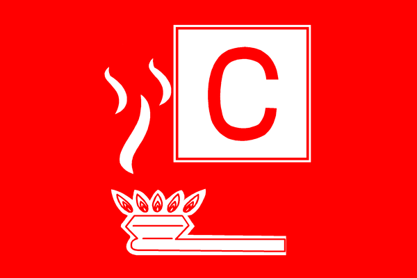 Пожар класса C
