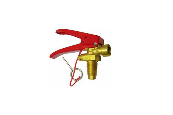 Запорно-пусковое устройство огнетушителя