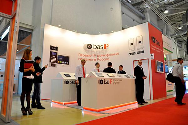 Стенд для компании Bas IP