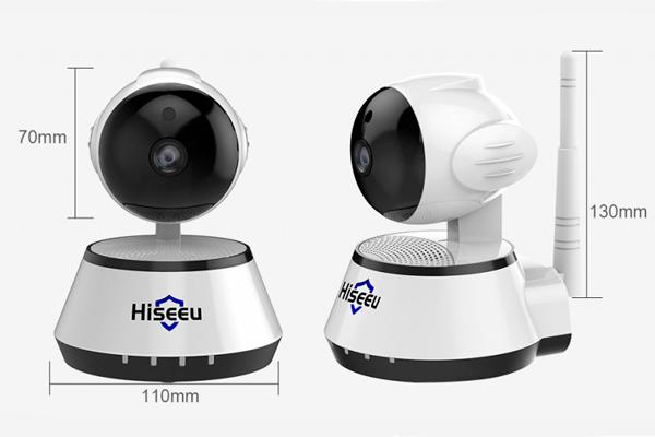 Камера видеонаблюдения для дома Hiseeu FH2A
