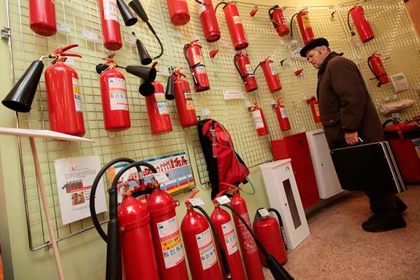 Магазин по продаже огнетушителей