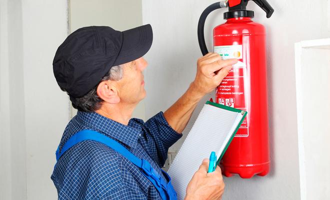 Проверка и техническое обслуживание огнетушителей: периодичность и сроки