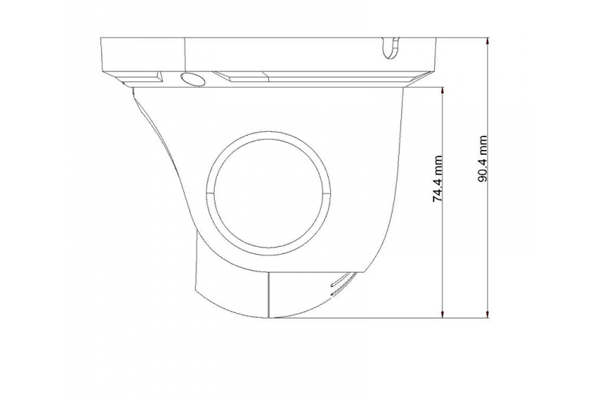 Схема камеры видеонаблюдения LTV-ICDM1-E9235L-F3.6