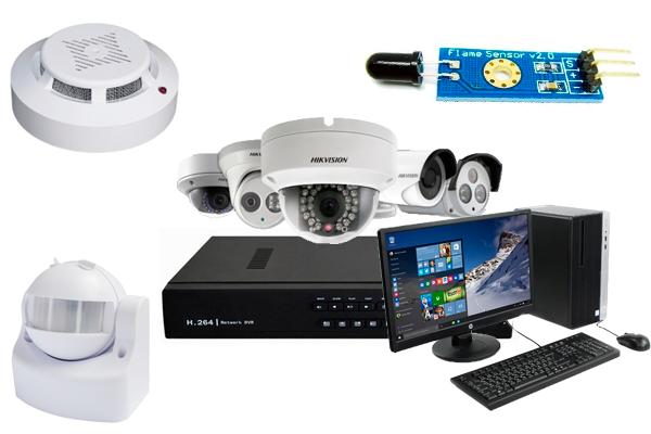 Комплектующие элементы IP системы видеонаблюдения