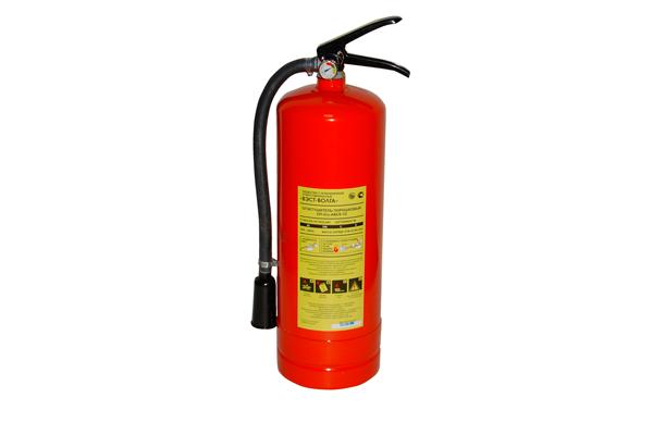 Порошковый огнетушитель для автомобиля