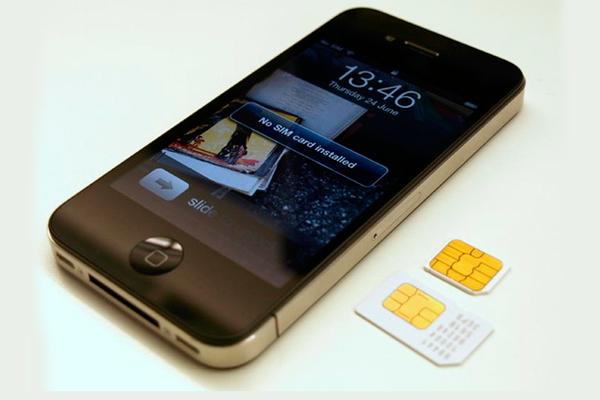 Смартфон и симкарта для удаленного видеонаблюдения