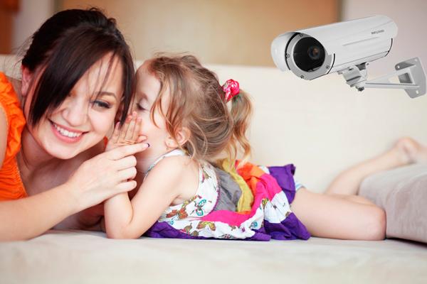 Доверие к ребенку при установки систем видеонаблюдения