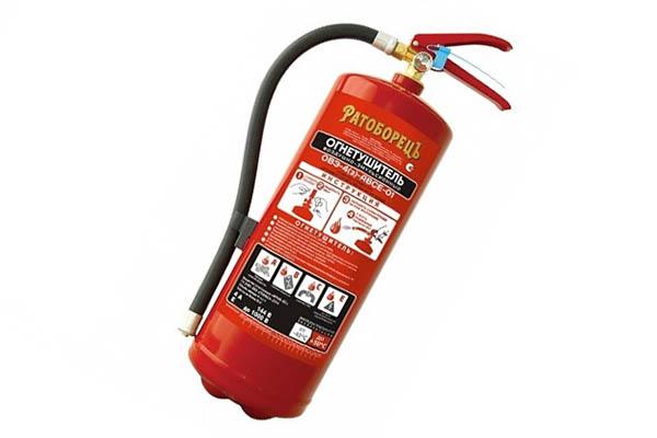 Воздушно-эмульсионный огнетушитель для дома