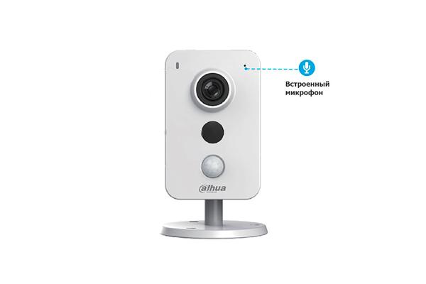 IP видеокамера Dahua DH-IPC-K15AP со встроенным микрофоном