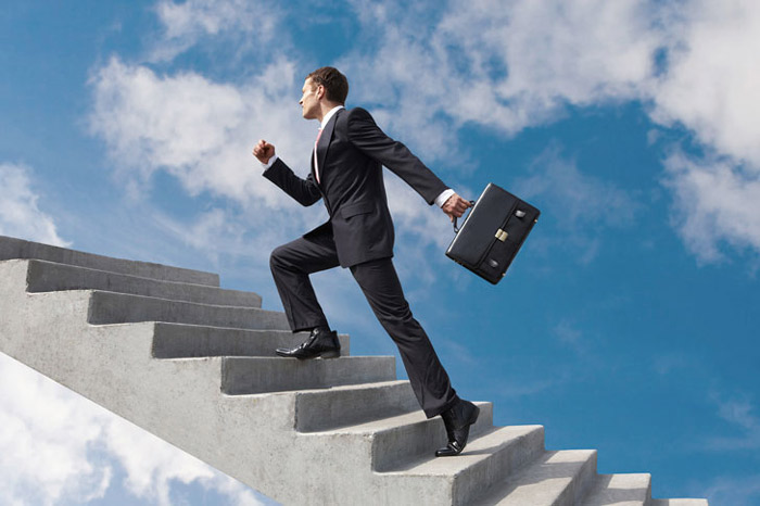 Восхождение на карьерную лестницу