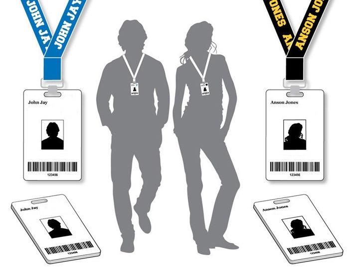 Персональніе ID карты для отслеживания перемещения работника