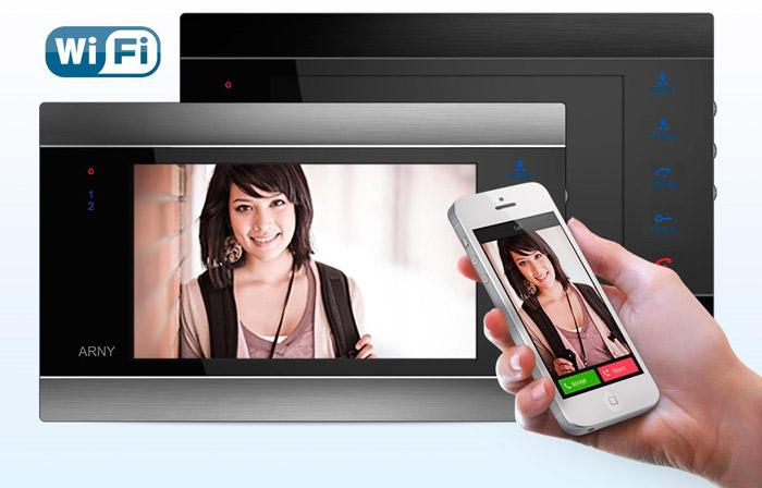 Приложение по управлению данным домофоном с телефона