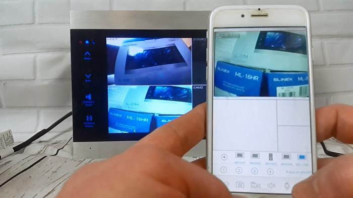 Трансляция изображения с камер на Ваш смартфон