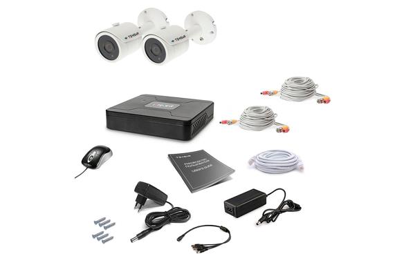 Комплект видеонаблюдения для дома Tecsar AHD 2OUT LUX