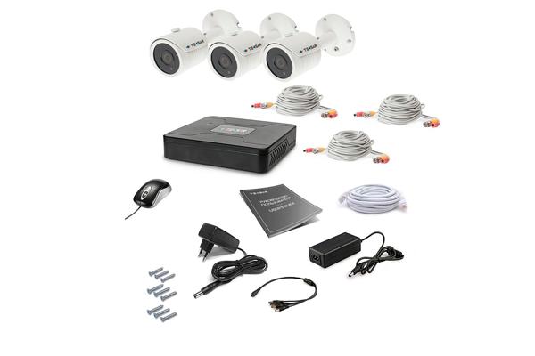 Комплект видеонаблюдения для дома Tecsar AHD 3OUT