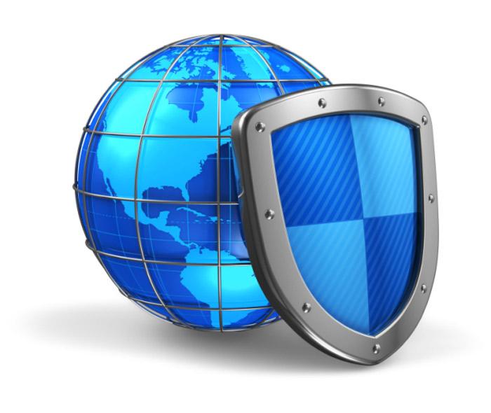 Компьютер под защитой антивируса