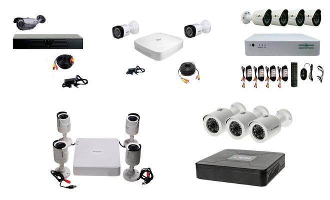 Что входит в готовые комплекты видеонаблюдения для частного дома и какую помощь они могут оказать владельцу