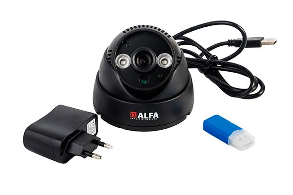 Внутренняя камера видеонаблюдения Alfa Agent 004 LED