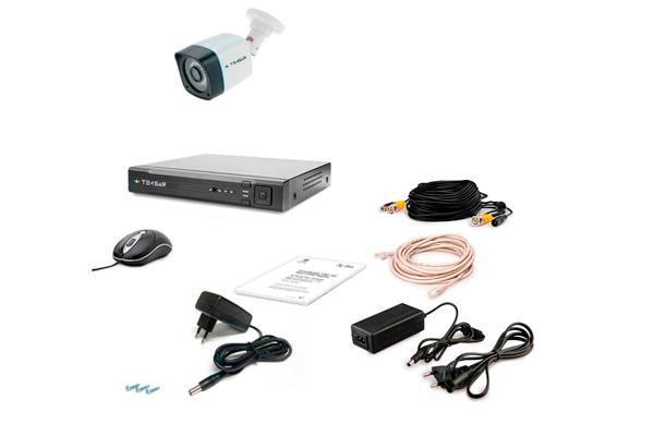 Комплект видеонаблюдения Tecsar AHD 1OUT