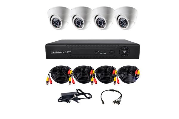 Комплект видеонаблюденния для дома CoVi Security ADH-4D KIT