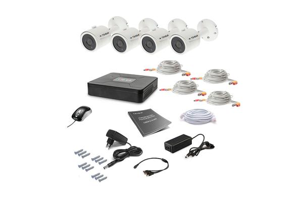 Комплект видеонаблюдения для улицы Tecsar AHD 4OUT
