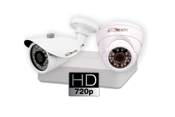 Уличная и внутренняя камеры видеонаблюдения